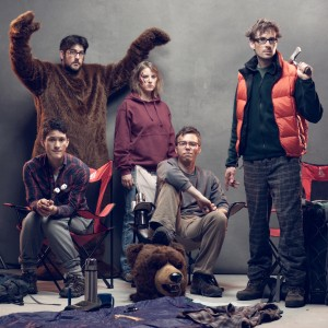 Lakefield Promo Photo, Camping With Bears